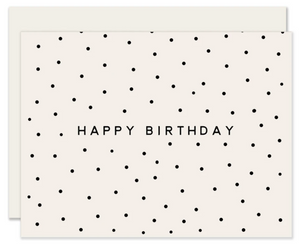 Simplest Dots Birthday Card