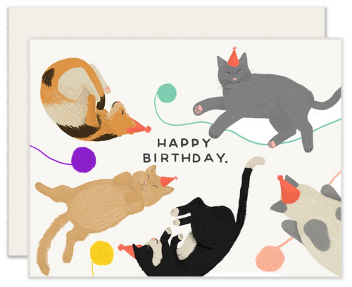 Cats Birthday Card