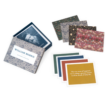 Load image into Gallery viewer, William Morris Notecards