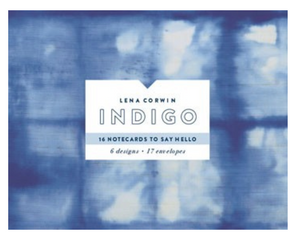 Indigo Notecards Set of 16