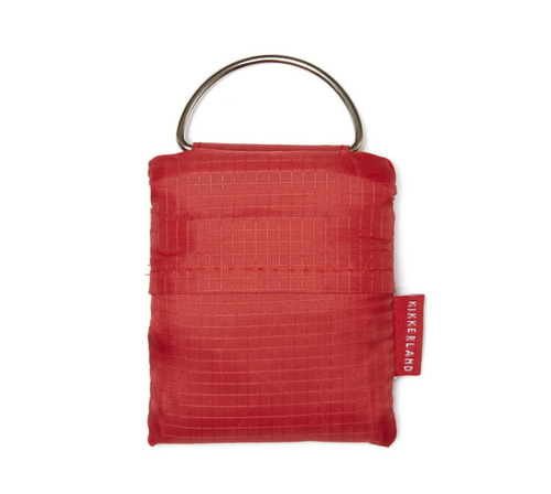 Red Key Ring Shopping Bag