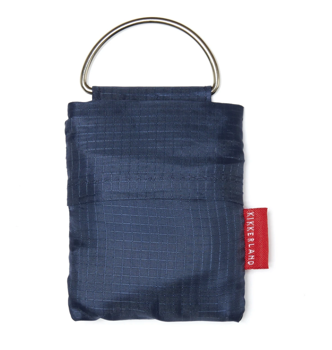 Blue Key Ring Shopping Bag