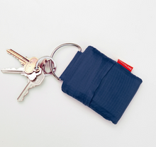 Load image into Gallery viewer, Blue Key Ring Shopping Bag