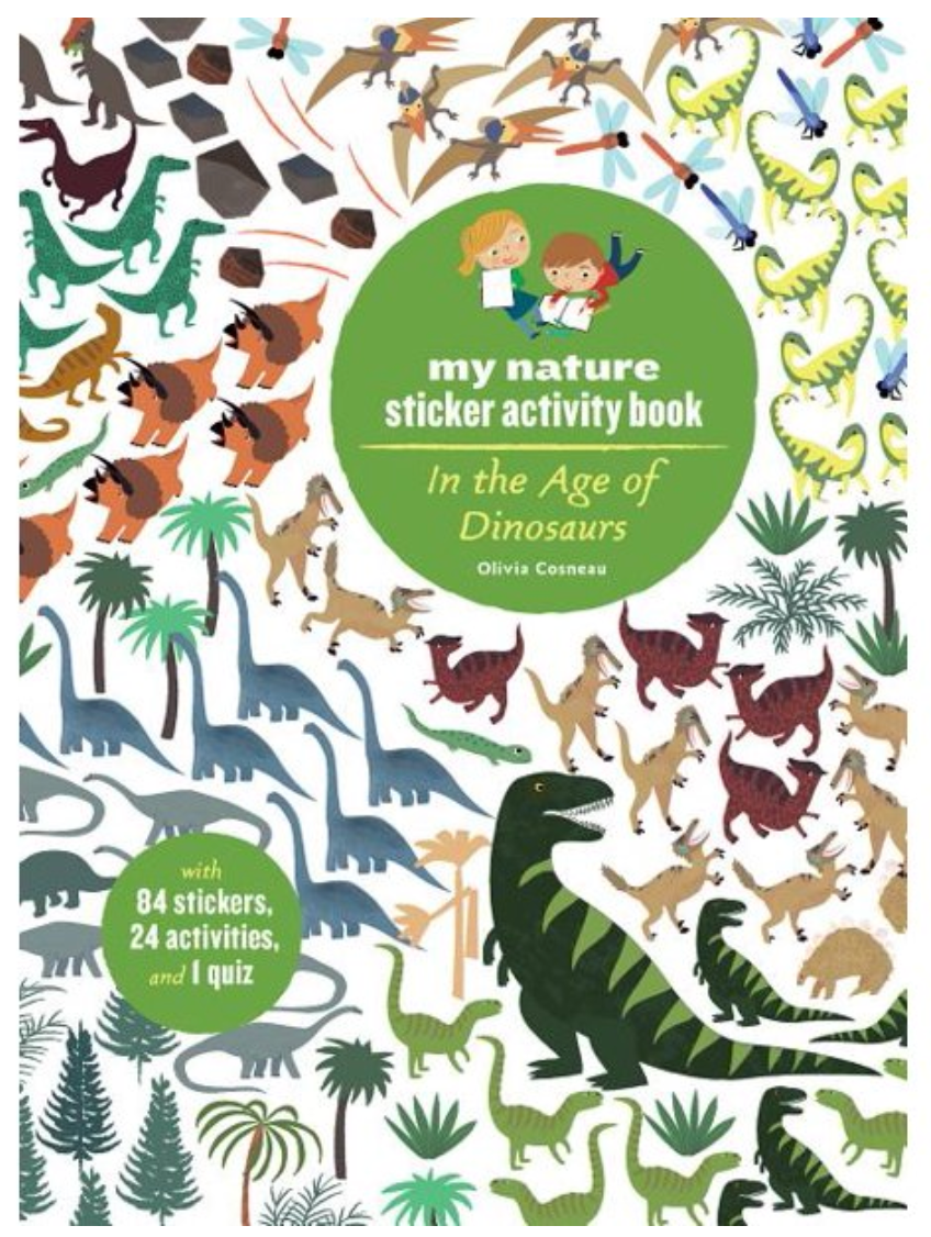 Nature Sticker Book Age of Dinosaurs