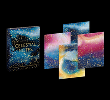 Load image into Gallery viewer, Celestial Notes Card Set