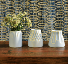 Load image into Gallery viewer, Margot Vase Scallop Matte Blue