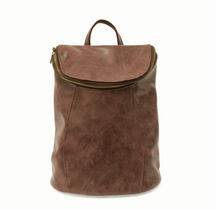 Load image into Gallery viewer, Alyssa Distressed Backpack Cedar