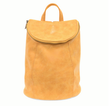 Load image into Gallery viewer, Alyssa Distressed Backpack Dijon