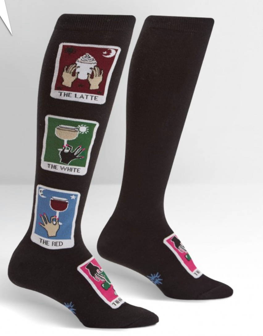 Daily Tarot Knee Socks