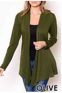 Cardigan Sweater Olive S