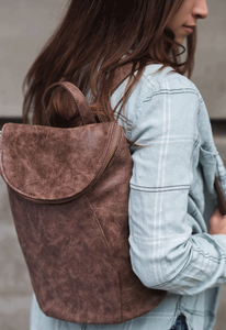 Alyssa Distressed Backpack