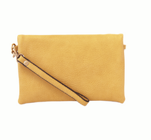 Load image into Gallery viewer, Kate Crossbody Clutch Dijon