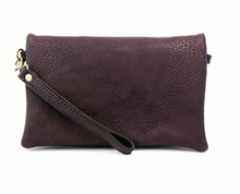 Load image into Gallery viewer, Kate Crossbody Clutch Eggplant