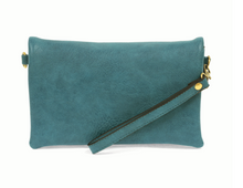Load image into Gallery viewer, Kate Crossbody Clutch Blue Lagoon