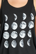 Load image into Gallery viewer, Moon Print Tank Top
