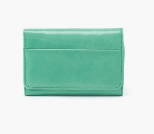 Mint Jill Leather Wallet