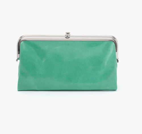 Mint Leather Lauren Wallet
