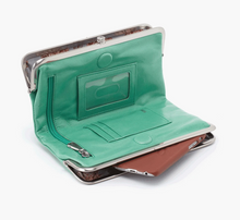 Load image into Gallery viewer, Mint Leather Lauren Wallet