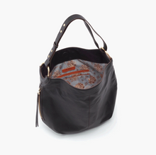 Load image into Gallery viewer, Black Port Leather Handbag