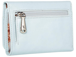 Whisper Blue Jill Leather Wallet