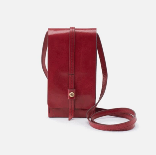 Loganberry Token Hobo Crossbody Wallet
