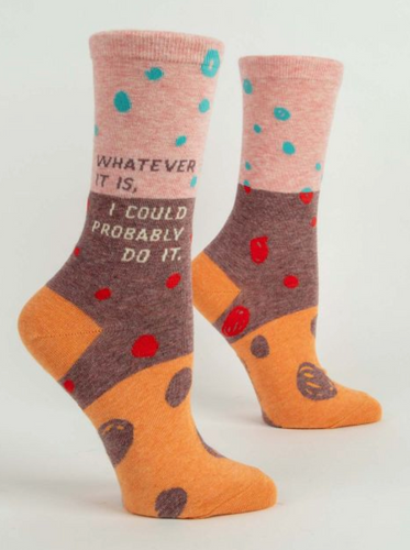Whatever It Is Womens Socks