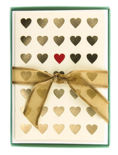 Load image into Gallery viewer, Lots of Love Hearts Thak You Cards