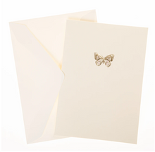 Load image into Gallery viewer, Pink Butterfly Box Cards
