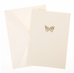 Pink Butterfly Box Cards