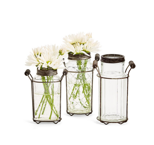 Wildflower Jar Arranger