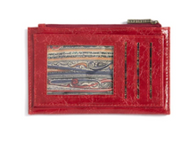 Load image into Gallery viewer, Harper Card Case - Wallet Red