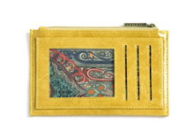 Load image into Gallery viewer, Harper Card Case - Wallet Yellow