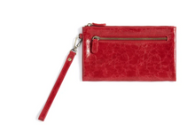 Load image into Gallery viewer, Harper Wristlet Red