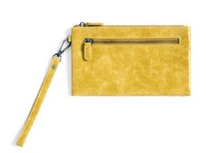 Harper Wristlet Yellow