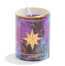 Load image into Gallery viewer, Tarot Scented Candle The Star