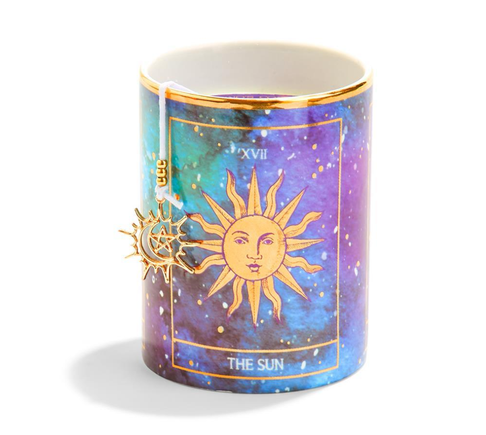 Tarot Scented Candle With Charm