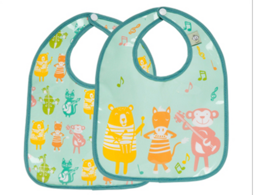 Ore Mini Bib Gift S/2 Animal Band