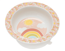 Load image into Gallery viewer, Ore Suction Bowl Rainbows Sunshine