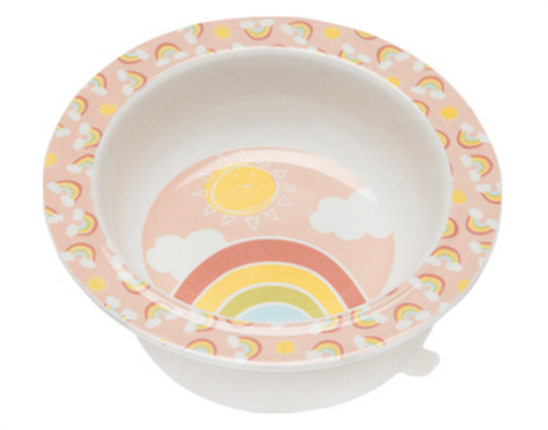 Ore Suction Bowl Rainbows Sunshine