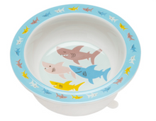 Load image into Gallery viewer, Ore Suction Bowl Smiley Shark
