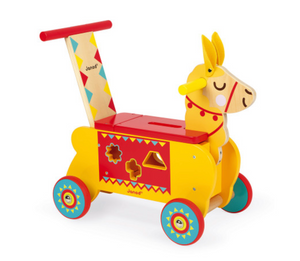 Llama Wooden Ride-On