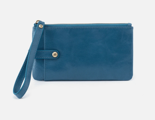 Riviera King Leather Wristlet