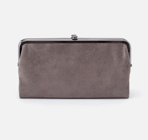 Lauren Titanium Leather Wallet