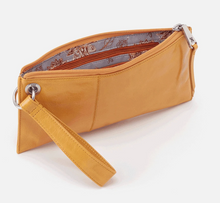 Load image into Gallery viewer, Mustard Leather Vida Wristlet