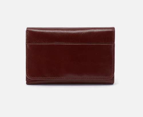 Chocolate Leather Jill Wallet