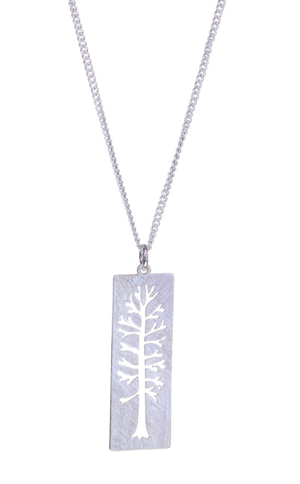 Silver Rec Tree of Life Neck