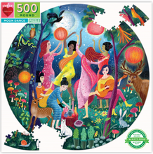 Load image into Gallery viewer, Eeboo 500 Piece Puzzle Moon Dance