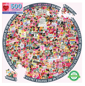 Eeboo 500 Piece Puzzle Womens March