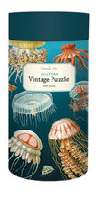 Load image into Gallery viewer, Cavallini 1000 Piece Puzzles Jellyfish