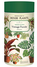Load image into Gallery viewer, Cavallini 1000 Piece Puzzles Houseplants